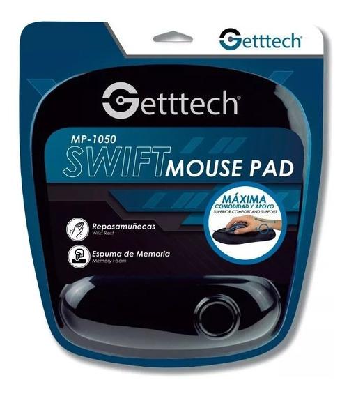 Getttech Gts-28001n Mousepad Reposa Muñecas Espuma De Memori