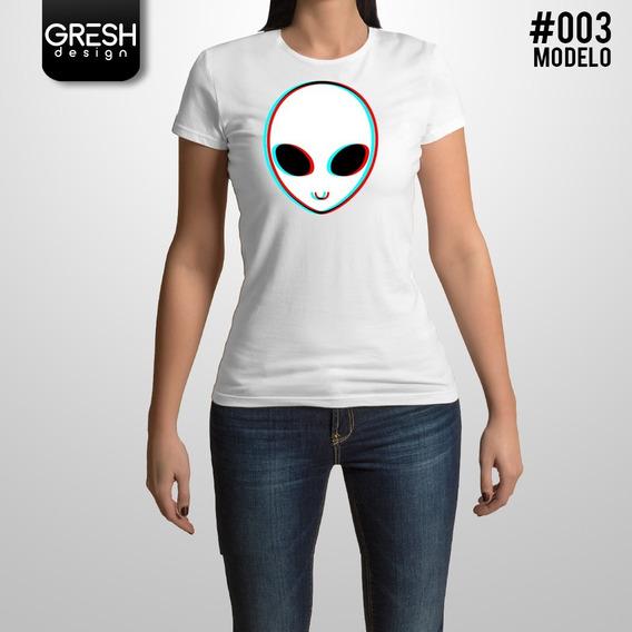 Remera Alien De Mujer