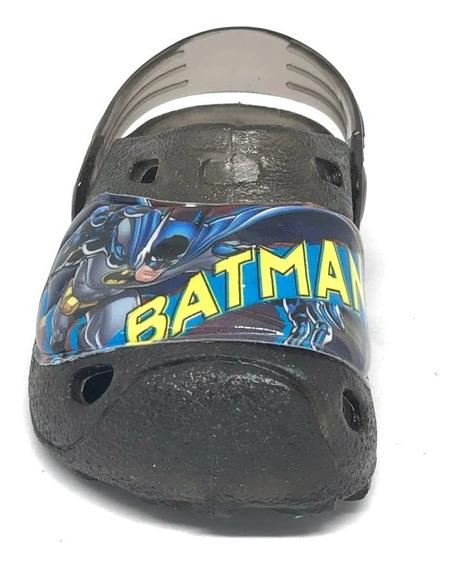 Sandalia Chancla Sueco Batman Entrenador Humo Volcan