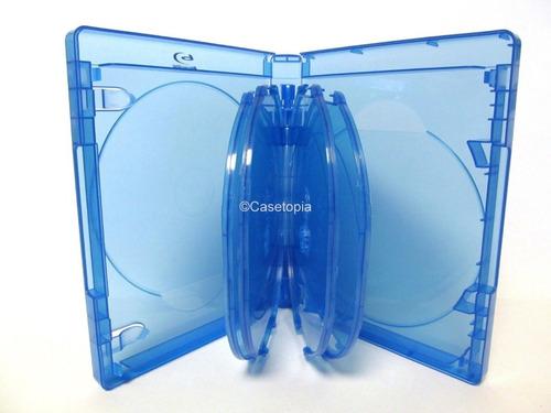 Caja Blu-ray 8 Discos Viva Elite Original Importada Con Logo