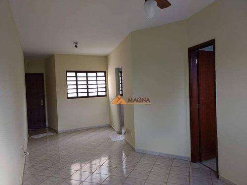 Kitnet Com 1 Dormitório Para Alugar, 37 M² Por R$ 600,00/mês - Centro - Ribeirão Preto/sp - Kn0009
