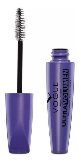 Mascara Pestañas Vogue Ultra Volumen A Prueba De Agua
