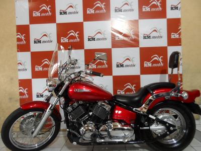 Yamaha Drag Star 650 2008 Vermelha