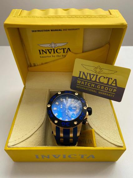 Relógio Invicta Reserve Subaqua Specialty Chrono 0914 - Raro
