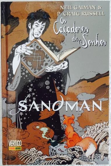 Sandman Os Caçadores De Sonhos Panini Capa Dura Vertigo