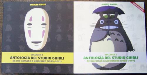 Antologia Del Estudio Ghibli 1984-2011 * 2 Tomos * M. Robles
