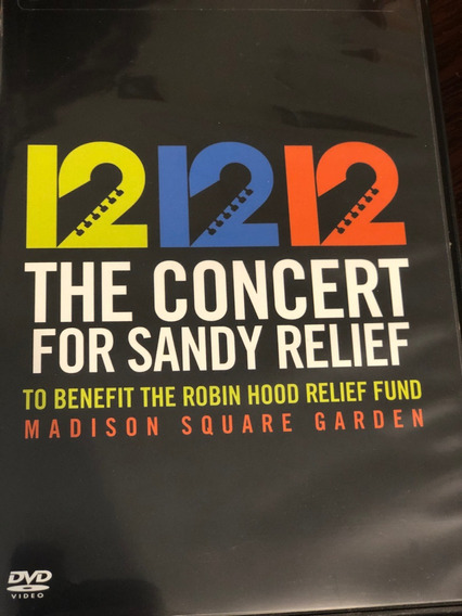 12-12-12 The Concert For Sandy Relief Dvd