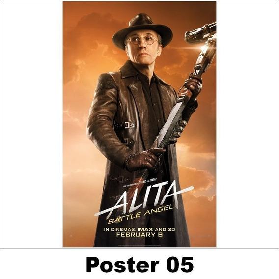 Poster Alita 30x42 Anjo De Combate (05)