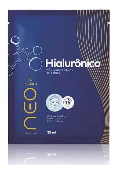 Eudora Neo Etage - Máscara Facial De Fibra - Hialurônico