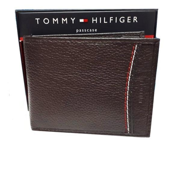 Billetera Tommy Hilfiger De Cuero Genuino Modelos Exclusivos