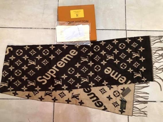 Bufanda Lv Supreme 3 Colores Envio Gratis