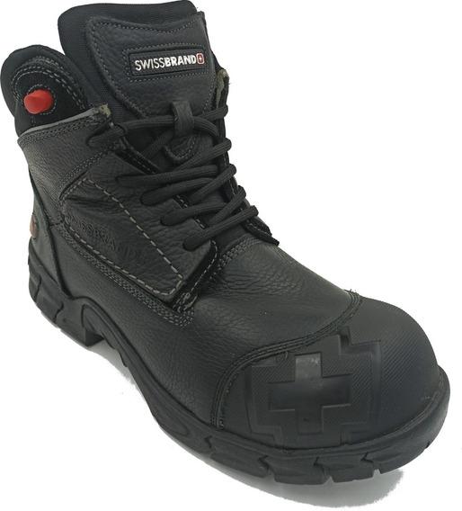 Zapato Swissbrand 5107 Gladiator Color Negro Hombre