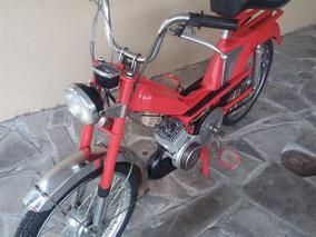 Antiguidade Caloi Mobilete Moto Raridade Colecionador