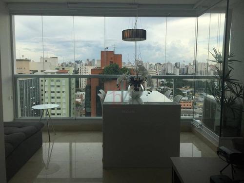 Imagem 1 de 30 de Apartamento Com 1 Dormitório À Venda, 37 M² Por R$ 750.000,00 - Moema - São Paulo/sp - Ap3755