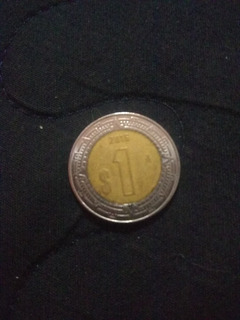 Moneda De 1 Peso Mxn