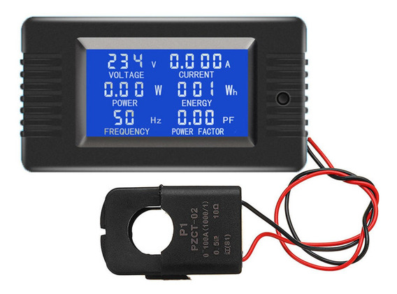 Pzem-022 Open And Close Ct 100a Ac Display Power