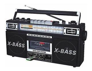 Nuevo Qfx Reproductor De Mp3 Estéreo Grabador De Casete Usb