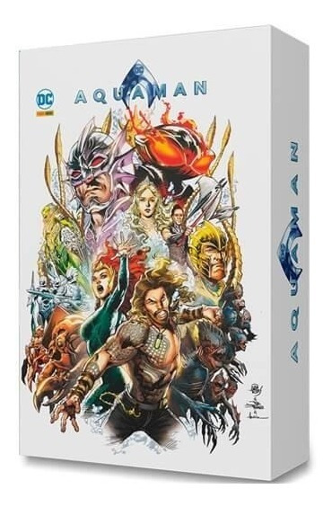 Box Hqs Aquaman - Dc Comics - Panini Brasil - Ed. Exclusiva
