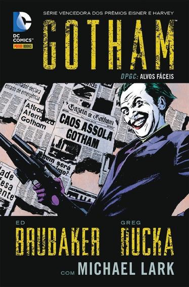 Hq - Gotham - Alvos Fáceis Dpgc- Vol. 2 Da Série - Capa Dura