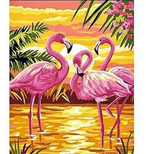 Imagen 1 de 6 de Loyoki Diy Acrilico Pintura Al Oleo Sobre Lienzo Pintura Por