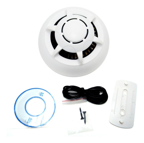 Camara Seguridad Espia Wifi P2p Inalambrica Celular Humo