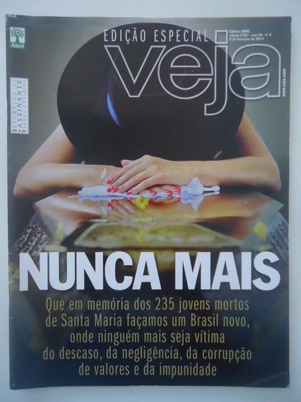 Revista Veja #2307 Tragédia De Santa Maria