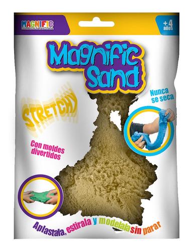 Imagen 1 de 7 de Juego Arena Kinetica Magnific Sand 450gms Colores Moldes