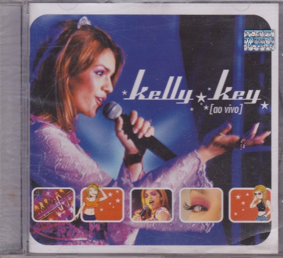 Kelly Key - Cd Ao Vivo - 2004 - Lacrado