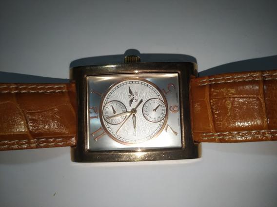 Relógio Minoir Germany Retangular, Quartz, Maq. Swis