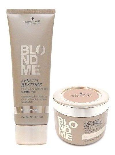 Schwarzkopf Blondme Kit Rubios Shampoo 250ml + Mascara 200ml