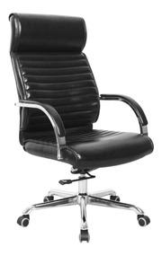 Cadeira Poltrona Braços Escritório Presidente Home Office