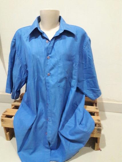 Camisa Brooksfield 4 Azul