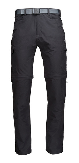 Pantalon Hombre Lippi Rampur Mix-2 Q-dry Pant Negro I19