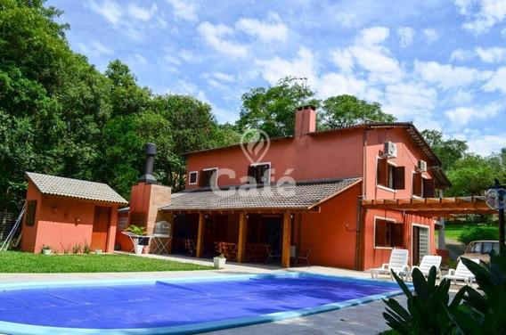 Casa Em Itaara/rs, Terreno 20 X 50, 4 Dormitórios Com 3 Suítes, Piscin - 1615