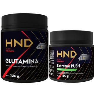 Pre-treino Extreme Push + Glutamina