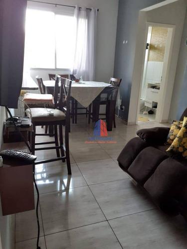 Apartamento Com 2 Dormitórios À Venda, 50 M² Por R$ 190.000,00 - Chácara Letônia - Americana/sp - Ap1559