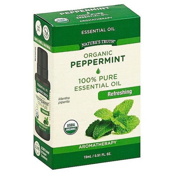 Aceite Esencial De Menta Orgánica 15ml Envío Incluido