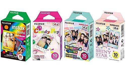 Imagen 1 de 5 de Fujifilm Instax Mini Pelicula Instantanea Rainbow And Staind