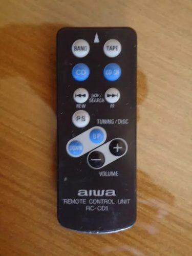 Controle Cd Player De Carro Aiwa Mod-rc-cd1