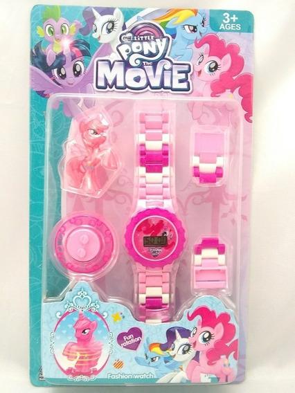 Relógio Digital Infantil My Little Pony + Pony + Brinde