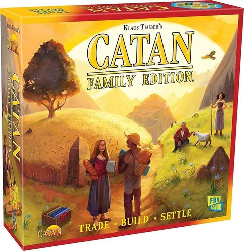 Imagen 1 de 3 de Juego De Mesa Catan Family Edition Board Game Eldritch Axis
