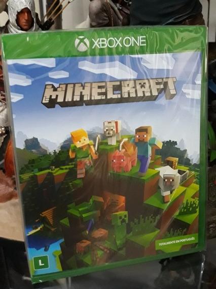 Game Jogo Minecraft Em Português Xbox One Novo