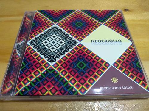 Imagen 1 de 3 de Neocriollo - Revolución Solar - Del Gobbo, 2012 - Cd