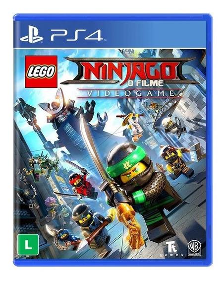 Lego Ninjago O Filme Videogame Ps4 Mídia Física Novo Lacrado