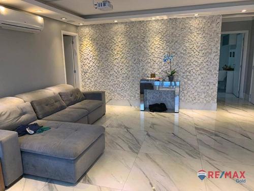 Apartamento Com 4 Dormitórios Para Alugar, 170 M² Por R$ 9.800,00/mês - Jardim Das Perdizes - São Paulo/sp - Ap34425