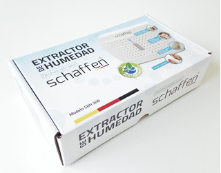 Pack 3 Extractores De Humedad Deshumidificador Schaffen