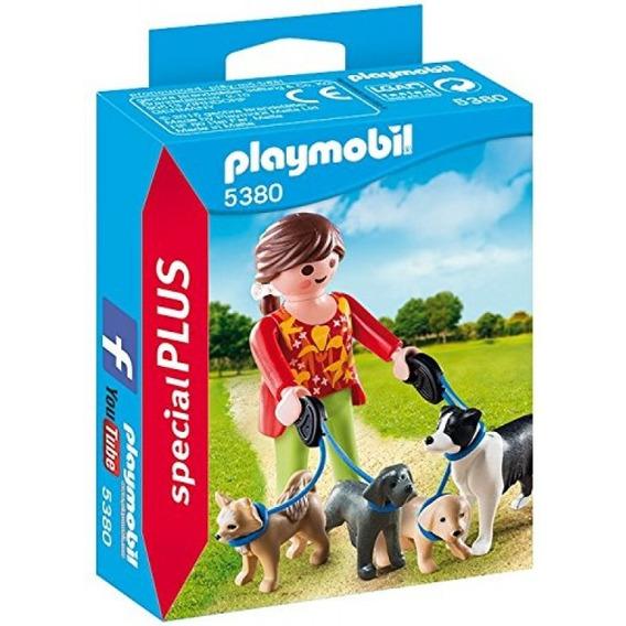 Playmobil Special Plus 5380 Mujer Con Perros Original Intek