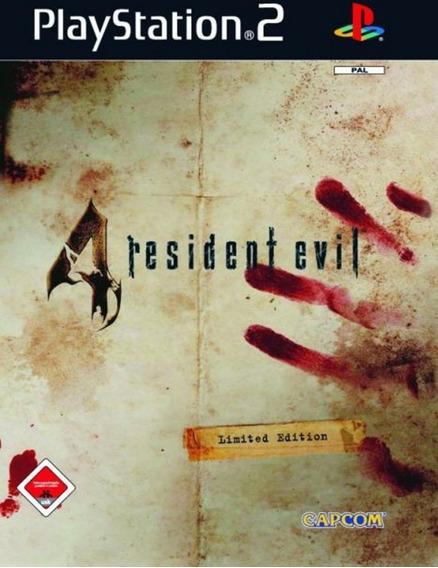 Patch Resident Evil 4 Com Códigos Ps2