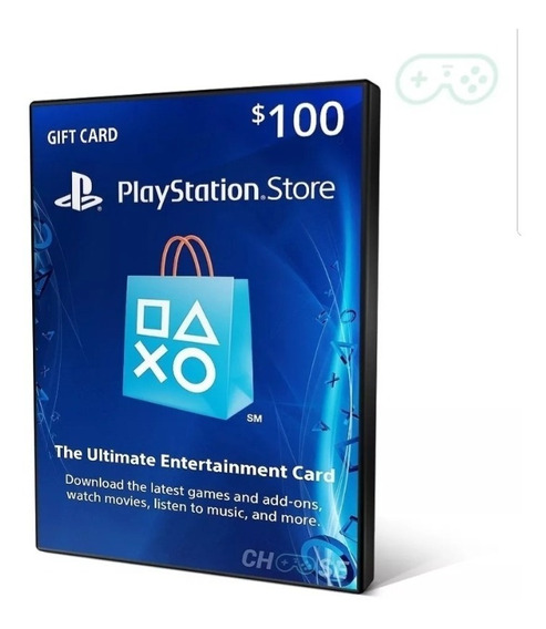 Cartão Psn Playstation Network Card Usa Us $100 Dolares 2 50
