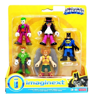 Imaginext Dc Super Friends Pack De Figuras